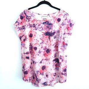 Ava & Viv Light and Breezy Floral Blouse Size 1X